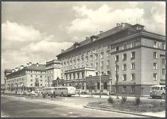 Restaurant LUCINA in Havirov, Czech Republic (1963)