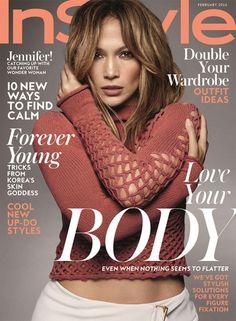 Jennifer Lopez - InStyle Magazine Cover (February 2016)