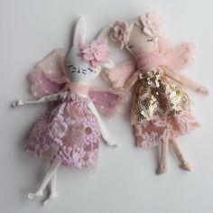 Liberty Lavender Dolls tiny little fairies