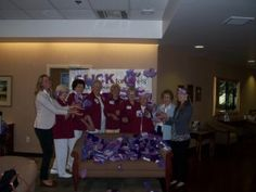 Volunteers in Utah hospital, thank you!!