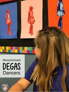 3 Easy and Fun Edgar Degas Art Projects. Great for art teachers, classroom teachers, homeschool families and parents. There is something for everyone with these fun Edgar Degas art projects. Degas Dancers, Ballet Dancers, Art Activities, History Activities, Middle School Art, High School, Art Teachers, Arts Integration, Easy Art Projects