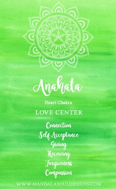 Discover all about the Heart Chakra our Love Center. Learn how you can heal and balance this chakra and live a life in harmony. Anahata Chakra, Chakra Art, Sacral Chakra, 7 Chakras, Chakra Healing, Chakra Painting, Heart Chakra Tattoo, Green Chakra, Chakra Affirmations