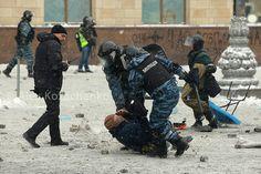 Protests in Ukraine. January 22, 2014. Berkut offensive | Flickr - Photo Sharing!
