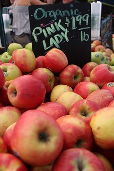Zapples can be made from almost any kind of apple. Organic Pink Lady apples are a company and customer favorite! Enjoyzapples.com