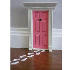 Fairy house doors in the house.