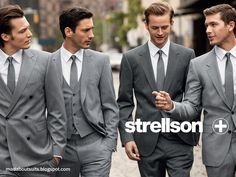 Mad About Suits?: Strellson Hotties in Grey!