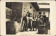 Foto Ansichtskarte / Postkarte Waldheim in Mittelsachsen, Gruppenfoto Arbeiter, Handw... | akpool.de