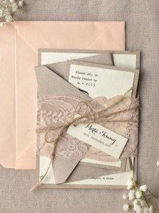 Invitations dans Papeterie - Etsy Mariages