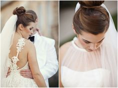 elegant bride with ballerina bun ~ see the full wedding here photos by Honey Heart Photography Elegant Winter Wedding, Winter Bride, Elegant Bride, Wedding Hair And Makeup, Wedding Beauty, Dream Wedding, Hairstyles For Gowns, Wedding Hairstyles, Heart Photography