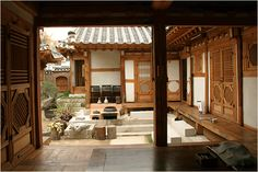 Traditional Chinese House, Asian Interior Design, Asian House, Cute Cottage, Hobby House, Asian Home Decor, Japanese House, Japanese Style, Chinese Architecture