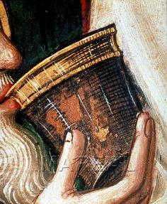 Letztes Abendmahl Kunstwerk: Temperamalerei-Holz ; Einrichtung sakral ; Flügelaltar ; Simon von Taisten (um 1460-1530) ; Südtirol ; Mt:26:020-029 , Mk:14:017-025 , Lk:22:014-023 , Jo:13:001-14:031  Dokumentation: 1485 ; 1490 ; Innsbruck ; Österreich ; Tirol ; Tiroler Landesmuseum Ferdinandeum ; IN 10  Anmerkungen: 97,5x71,5 ; Sonnenburg Südtirol