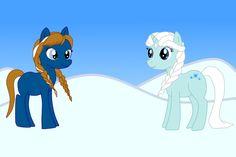 Frozen+Sisters+by+roxybaby528.deviantart.com+on+@deviantART