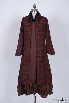 Phinneus Coat Dress dr-phinneus-cd - Ivey Abitz Bespoke