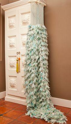 Inside the home and closet of Mad Men's Janie Bryant #armoir #dressing_room #celebrity #closet #MadMen