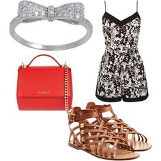Untitled #196 by evanmonster on Polyvore featuring polyvore fashion style Oasis Valentino Givenchy
