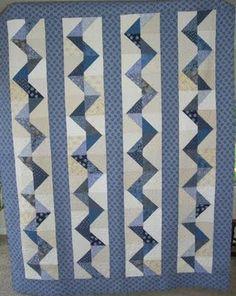 Shweshwe quilt in Indigo