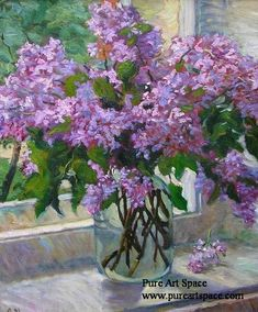 impressionism floral painting ,flower oil painting ,floral(flower) painting supplier,floral on cavas Lilac Painting, Flower Painting Canvas, Oil Painting Flowers, Watercolor Flowers, Flower Paintings, Art Paintings, Watercolor Paintings, Hydrangea Painting, Watercolors