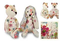 Taunina - the most lovely handmade and embroided stuffed toys. Incredibly unique