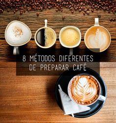 Prensa francesa, moka, aeropress... A marca de café illy dá algumas dicas de como preparar a bebida em casa. Confira 8 deliciosos métodos diferentes de preparar café, do mais avançado ao mais prático!i