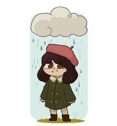 little misfortune fan art Cute Games, Best Games, Coraline, Creepy Gif, Little Misfortune, Miss Fortune, Childhood Games, Chibi Girl, Different Games