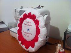 Announcing the birth cushion