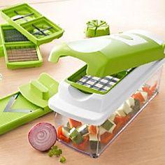 más agradable de frutas / vegetales herramientas máquina de cortar chopper dicer establecen