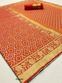 Armani Pure Silk Weaving Saree, Such Saris women use to wear on Party Wear, Marriage Wear at Online Lowest Wholesale Price Shipping Worldwide Silk Saree Blouse Designs, Soft Silk Sarees, Sari Fabric, Silk Sarees Online, Saree Collection, Saree Wedding, Wedding Designs, Weaving, Pure Products