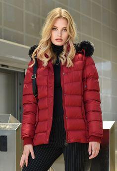 Winter Jackets, Woman, Lady, Collection, Fashion, Winter Coats, Moda, Fashion Styles, Fashion Illustrations