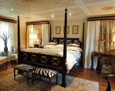 Spaces Drapery Behind Bed Design, Pictures, Remodel, Decor and Ideas - page 77