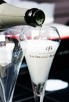 Treat yourself with a glass of Andreani-Besnier Champagne. #andreanibesnier #champagne #france