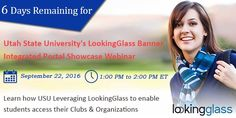 #USUAggies #LookingGlass #Banner Integrated #Portal Showcase Webinar on…
