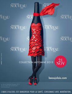 La robe du millésime 2013 du Beaujolais nouveau