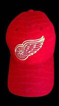 d24ab15b9400c NHL American Needle Detroit Red Wings Men s Hat Cap Adjustable Back Red  Hockey  AmericanNeedle