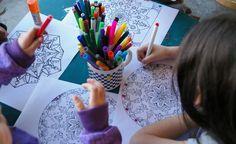 Pintar mandalas ayuda al tratamiento del déficit antencional