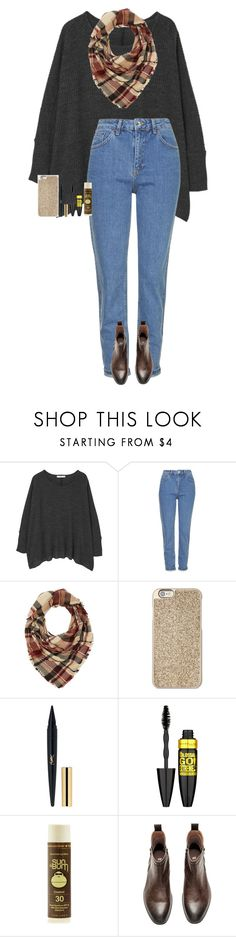 """""""Goodmorning y'all! 😊😘   RTD Please!"""" by one-of-those-nights ❤ liked on Polyvore featuring MANGO, Topshop, Charlotte Russe, Michael Kors, Maybelline and Sun Bum"""