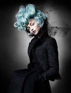 Sasha Pivovarova by Mario Testino for V Magazine #67