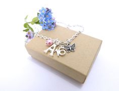 16th Gift 16th Birthday Necklace 16th Butterfly by FunkyPinks, £7.99