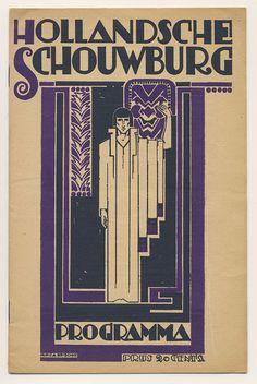 Programma Hollandsche Schouwburg, Mattheus Carel August Meischke 1922