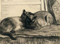 theophile alexandre steinlen cats - Google Search