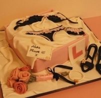 Hen/Stag party cake from Zoe Ellen's Cake Boutique