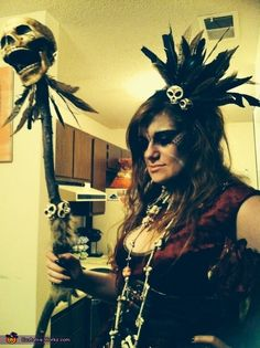 Voodoo Priestess - Halloween Costume Contest via @costume_works
