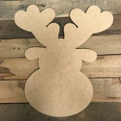 Wooden Shapes for all your arts and craft needs! Would you like off of our wooden cutouts? Wooden Reindeer, Reindeer Head, Reindeer Craft, Christmas Yard Art, Christmas Wood Crafts, Christmas Ornaments, Christmas Signs, Wooden Cutouts, Wooden Shapes