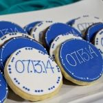 """""""Save the Date"""" Engagement Cookies - Perfect for Party Favors"""