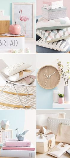 Maisons du Monde graphik pastel primavera estate 2016 home decor #homedecor…