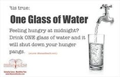 glass of water!!