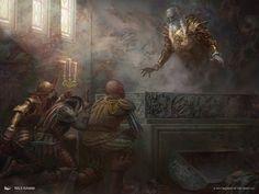 MtG Art: Deathless Ancient from Ixalan Set by Nils Hamm - Art of Magic: the Gathering Fantasy Concept Art, Fantasy Artwork, Dark Fantasy, Mtg Art, Wizards Of The Coast, Magic The Gathering, Ancient Art, Past, Scene