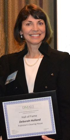 Deborah Holland, PCH EVP, was recently inducted into the Direct Marketing Association of Long Island's Hall of Fame