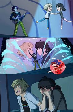 Princess song and feelings reveal from Star Vs The Forces of Evil, featuring Adrien and Marinette from Miraculous: Tales of Ladybug and Cat Noir.