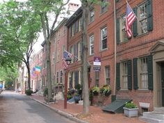 We asked around. We pounded the pavement. Philly has a lot of pretty streets. We think these are the prettiest.