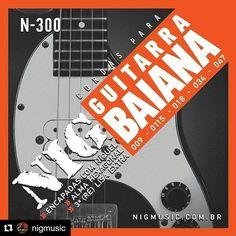 Uso e recomendo cordas @nigmusic para Guitarra Baiana. Em breve novo vídeo falando sobre este produto para os amantes da guitarrinha!  #Repost @nigmusic with @repostapp  Cordas para guitarra baiana. Conheça a linha completa em nosso site: www.nigmusic.com.br  #cordasnig #nigstrings #guitarrabaiana